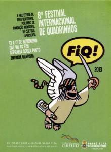 O FIQ teve como homenageado Laerte Coutinho